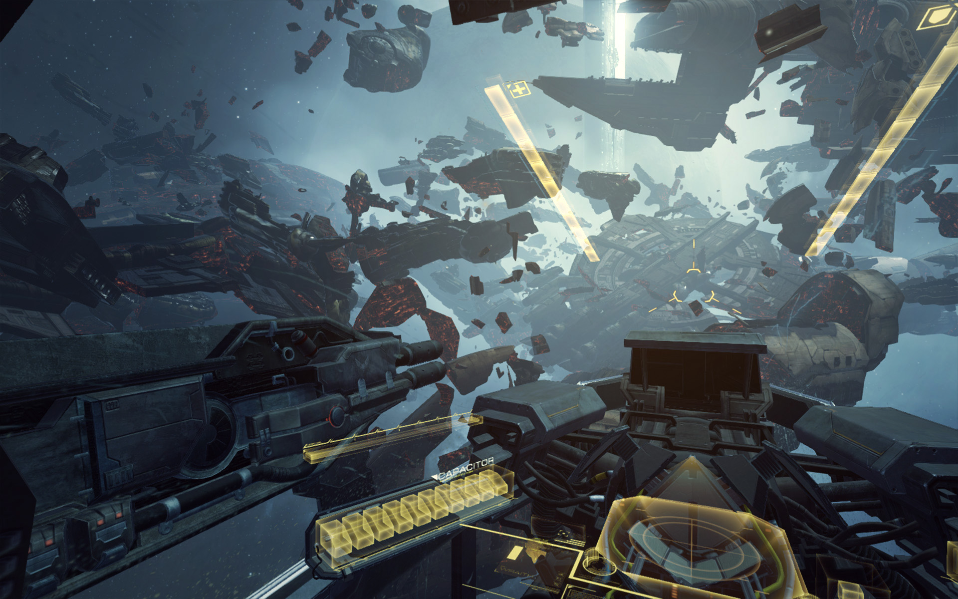 EVE Valkyrie is the Call of Duty to Elite Dangerous' ARMA