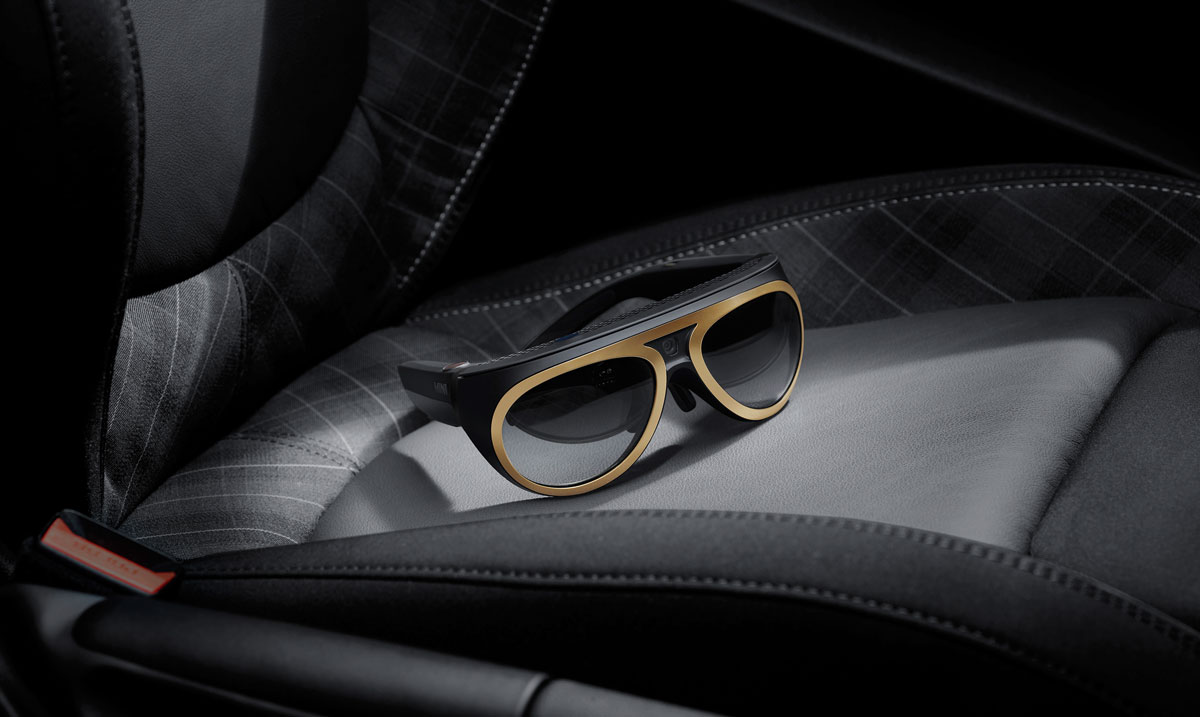 Osterhout Design Group (ODG) AR glasses, in partnership with BMW MINI
