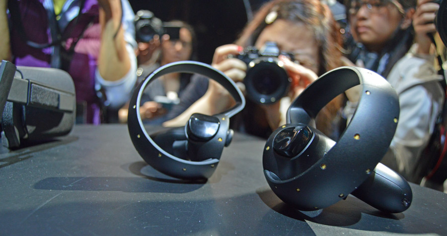"""Oculus Touch controls """"capable of a bit more"""" than what was shown at E3"""