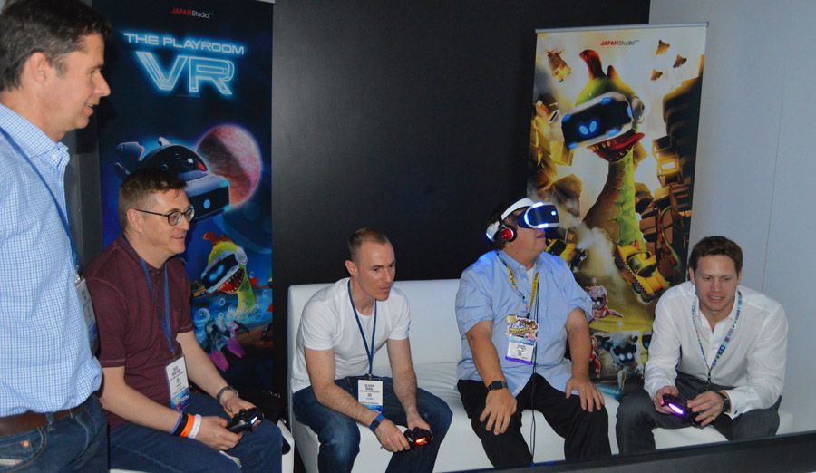 Read More: Five experiences that show VR can be social.