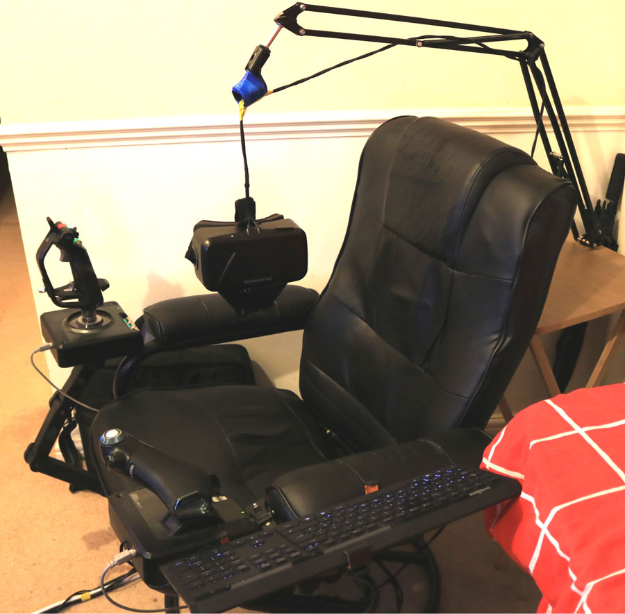 DIY VR: Build your own virtual reality chair UploadVR