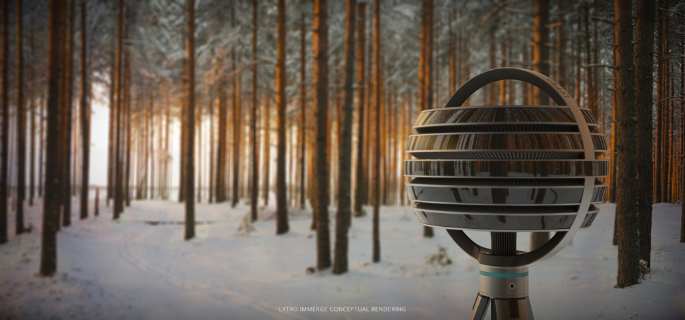 A rendering of Lytro Immerge camera, learn more about it here.