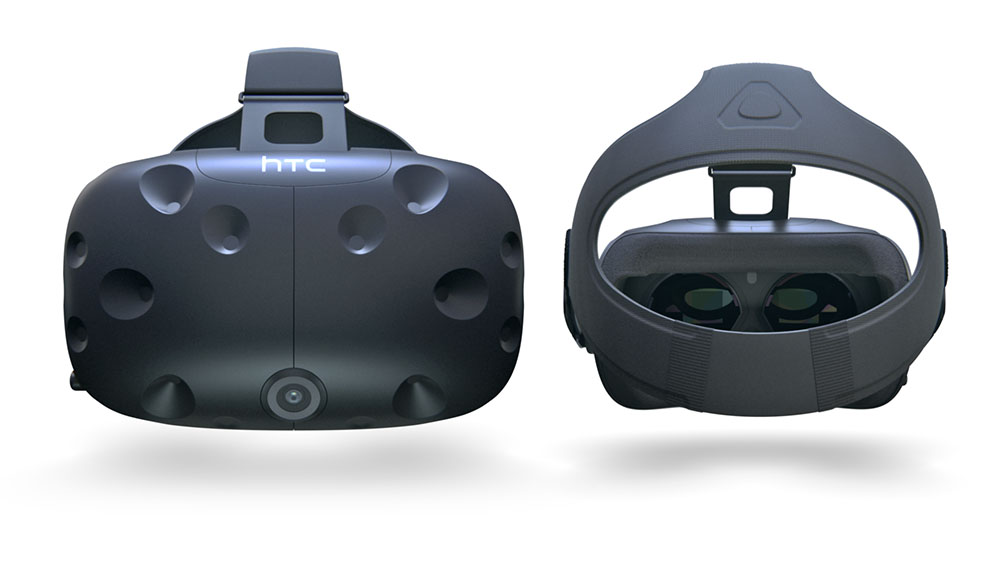 The HTC Vive VR headset