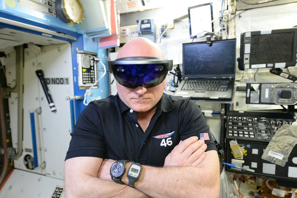Read More: NASA is already using HoloLens on the ISS.