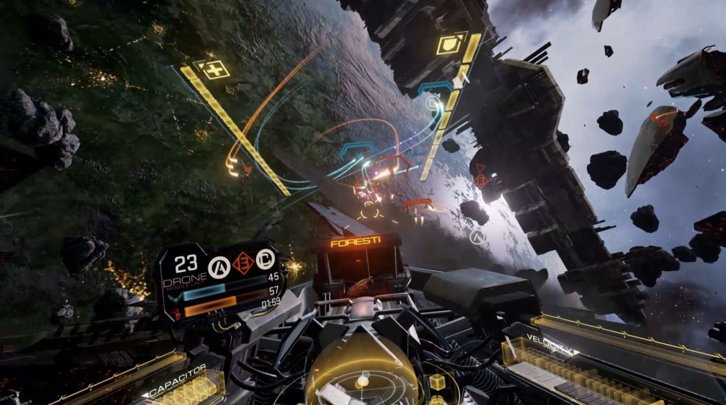 EVE Valkyrie Brings Multiplayer First Person Combat to the Rift. Read the Full Review.