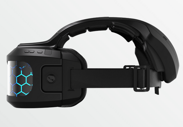 """The """"Cortex"""" HMD as it existed last year."""