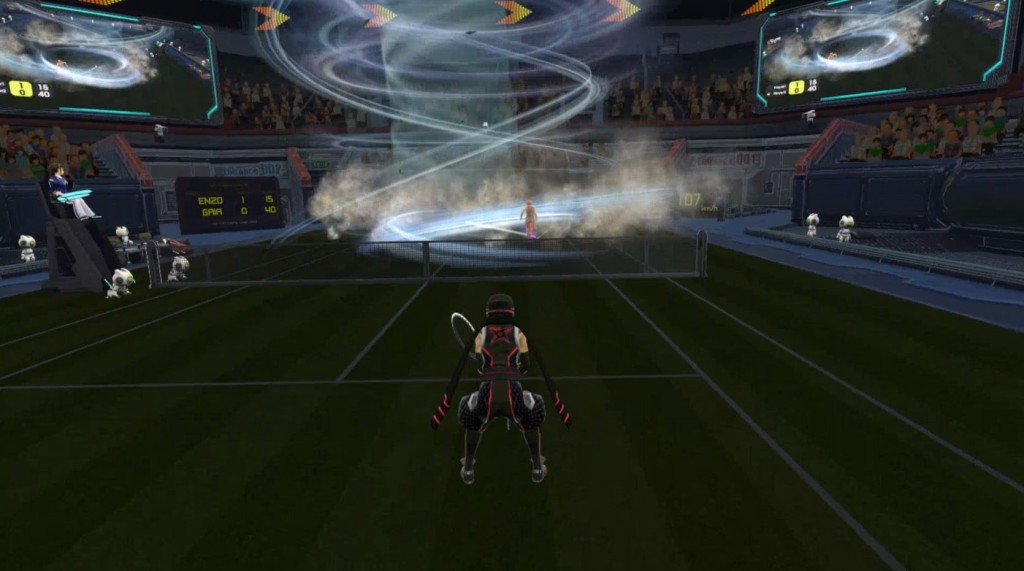 vr tennis twister special