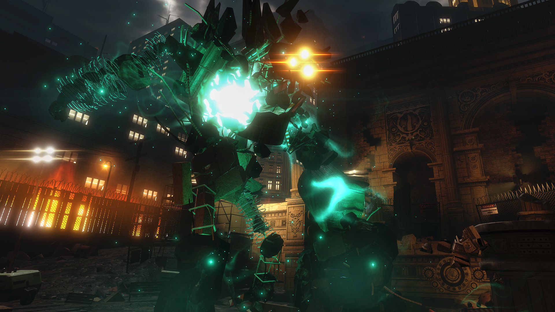 The Unspoken for Oculus Touch lets you summon massive Golems to chew up your opponent's cover, and decimate your opponent.