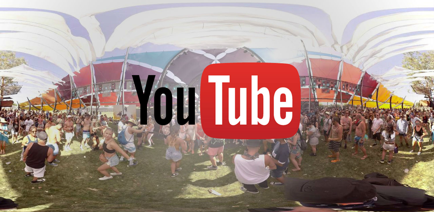 YouTube Showcased live 360 video at Coachella earlier this year.