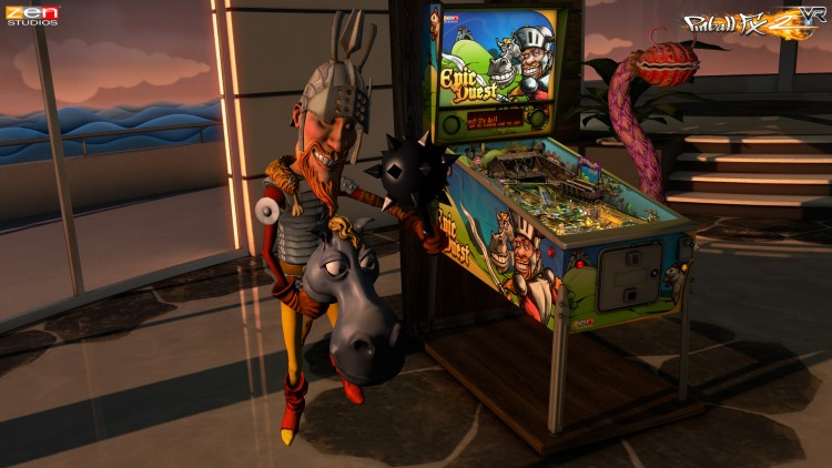 'Pinball FX2 VR' Review: Becoming The Pinball Wizard