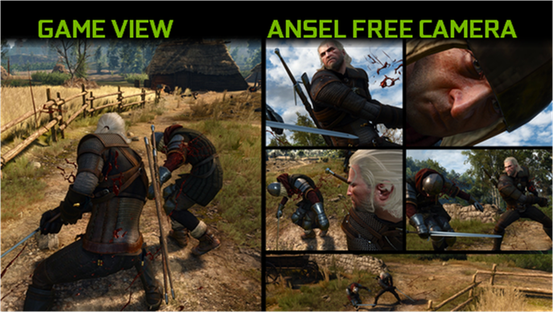 Nvidia Ansel unshackles you from the fixed in-game camera