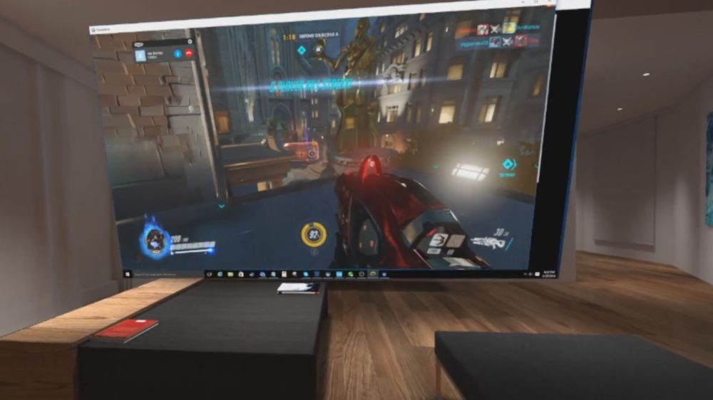 We played overwatch in vr using bigscreen and it was awesome for Vr for home