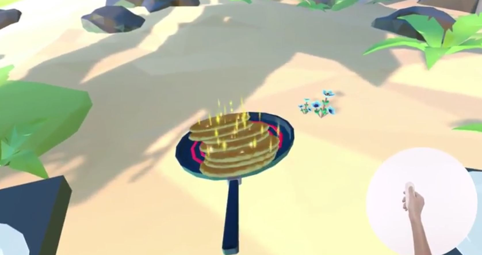 daydream remote pancakes