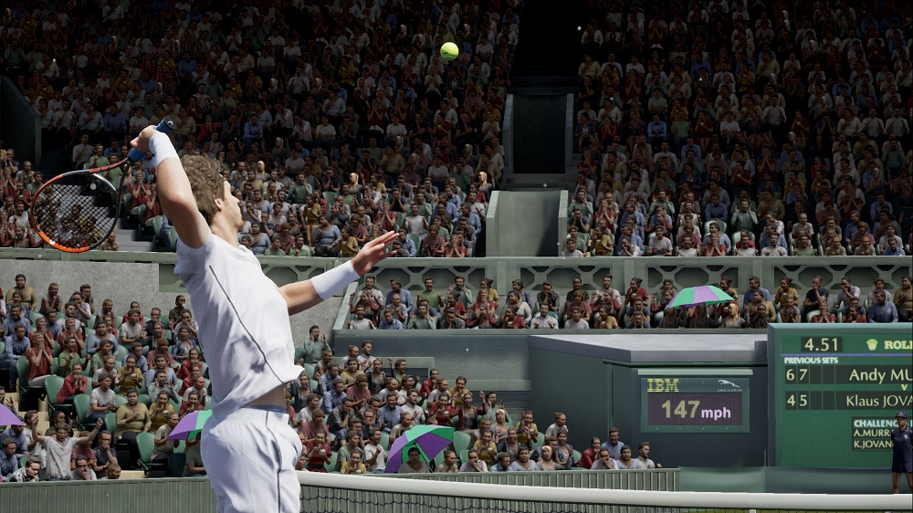 Andy Murray Aces His First Virtual Reality Wimbledon Tennis Experience