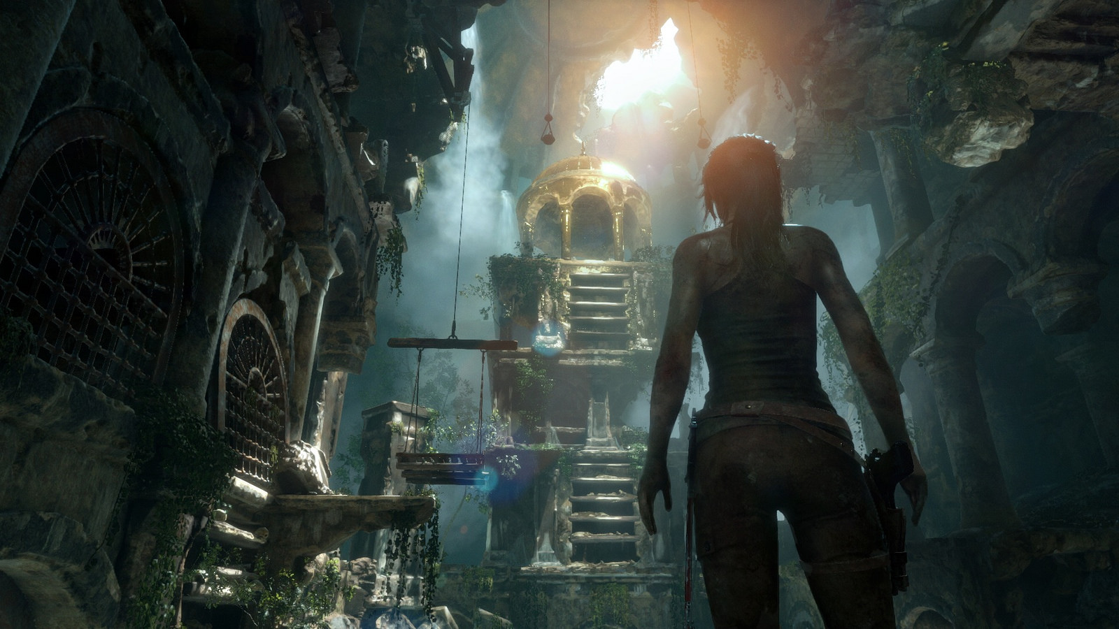 Rise Of The Tomb Raider S Vr Content Hits Oculus Rift And Htc Vive