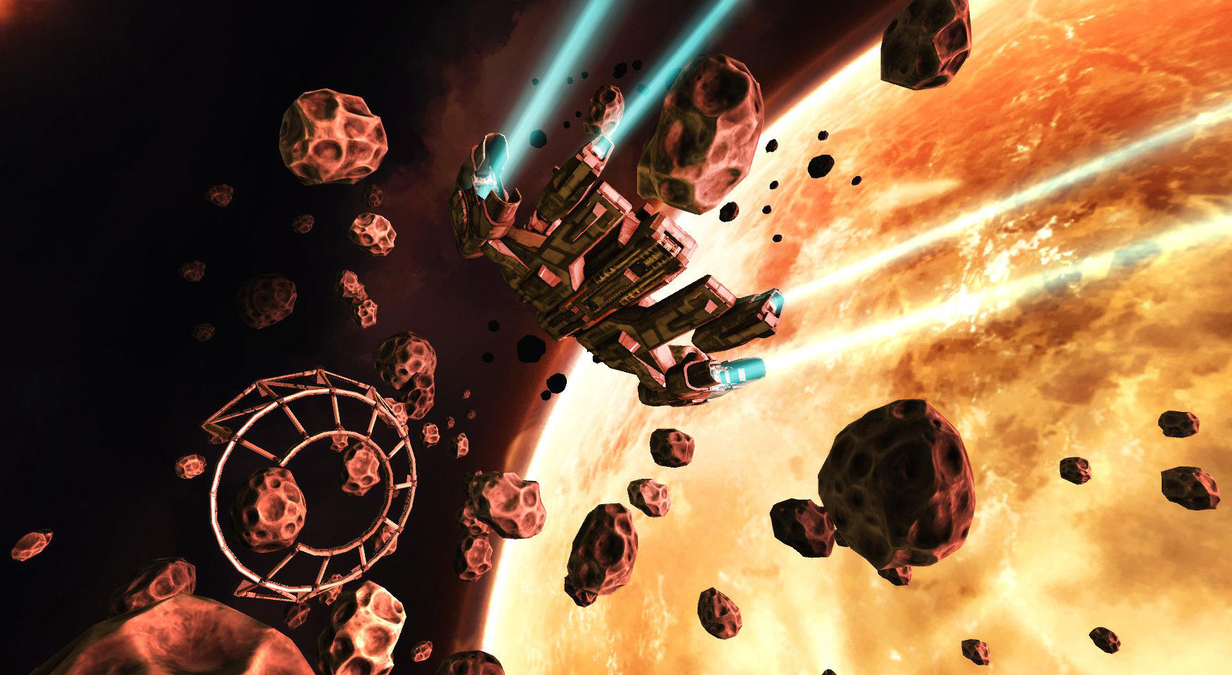 end space screenshot star wars: squadrons