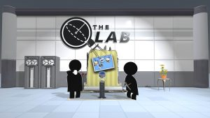 the lab title image