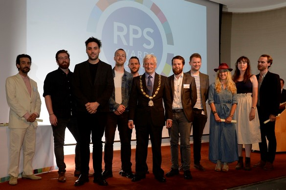 RPS 2016 winners. Ironically not pictured: Palmer Luckey