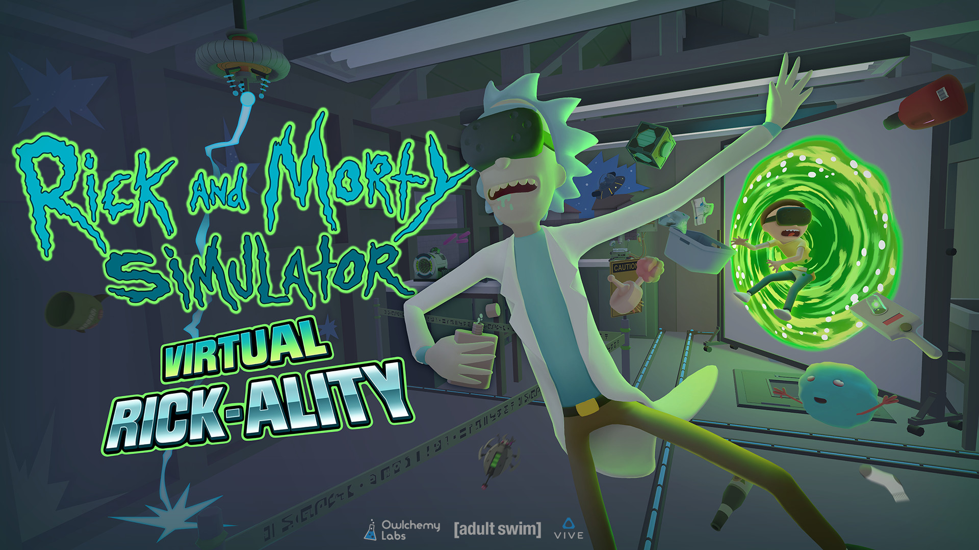 Hands On With The Hilarious Rick And Morty Vr Game