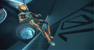 a-player-on-the-orange-team-floats-in-the-echo-arena-waiting-for-an-opening