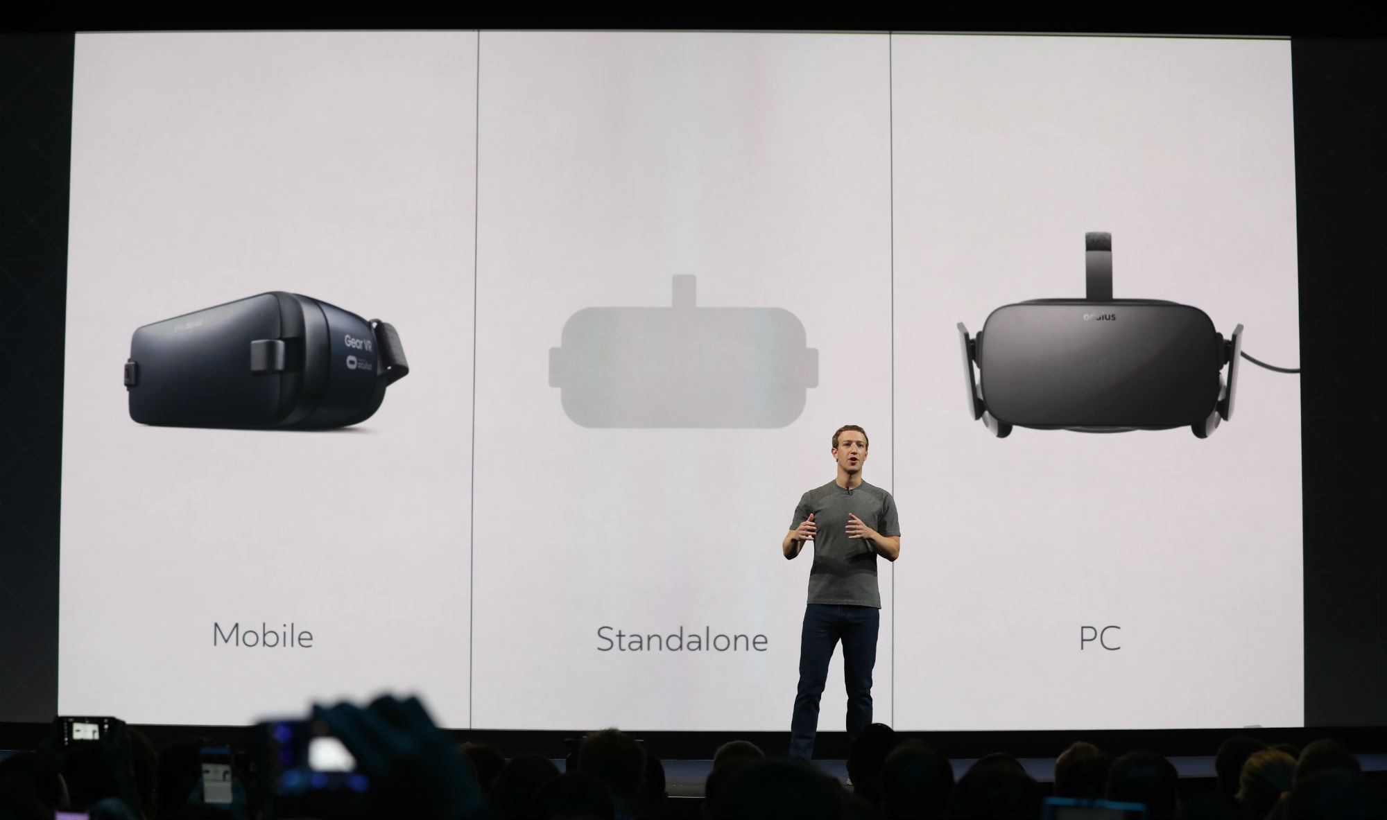 Facebook's Future Is A Standalone VR Headset That Connects You With Friends And Family