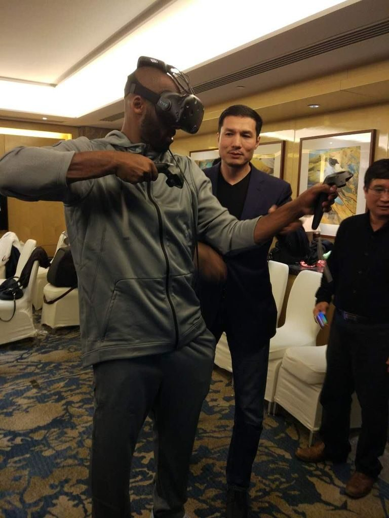 """Former NBA Superstar Kobe Bryant was the """"first consumer"""" to try the new wireless setup."""