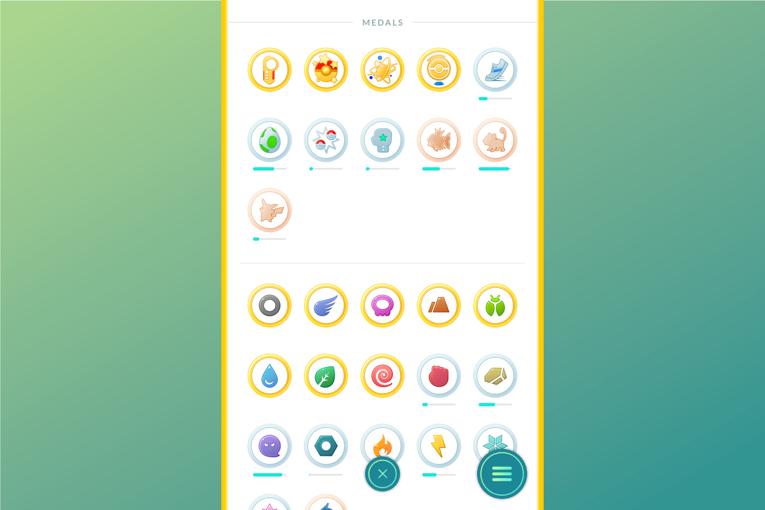 Medals, items, and other achievements would carry over