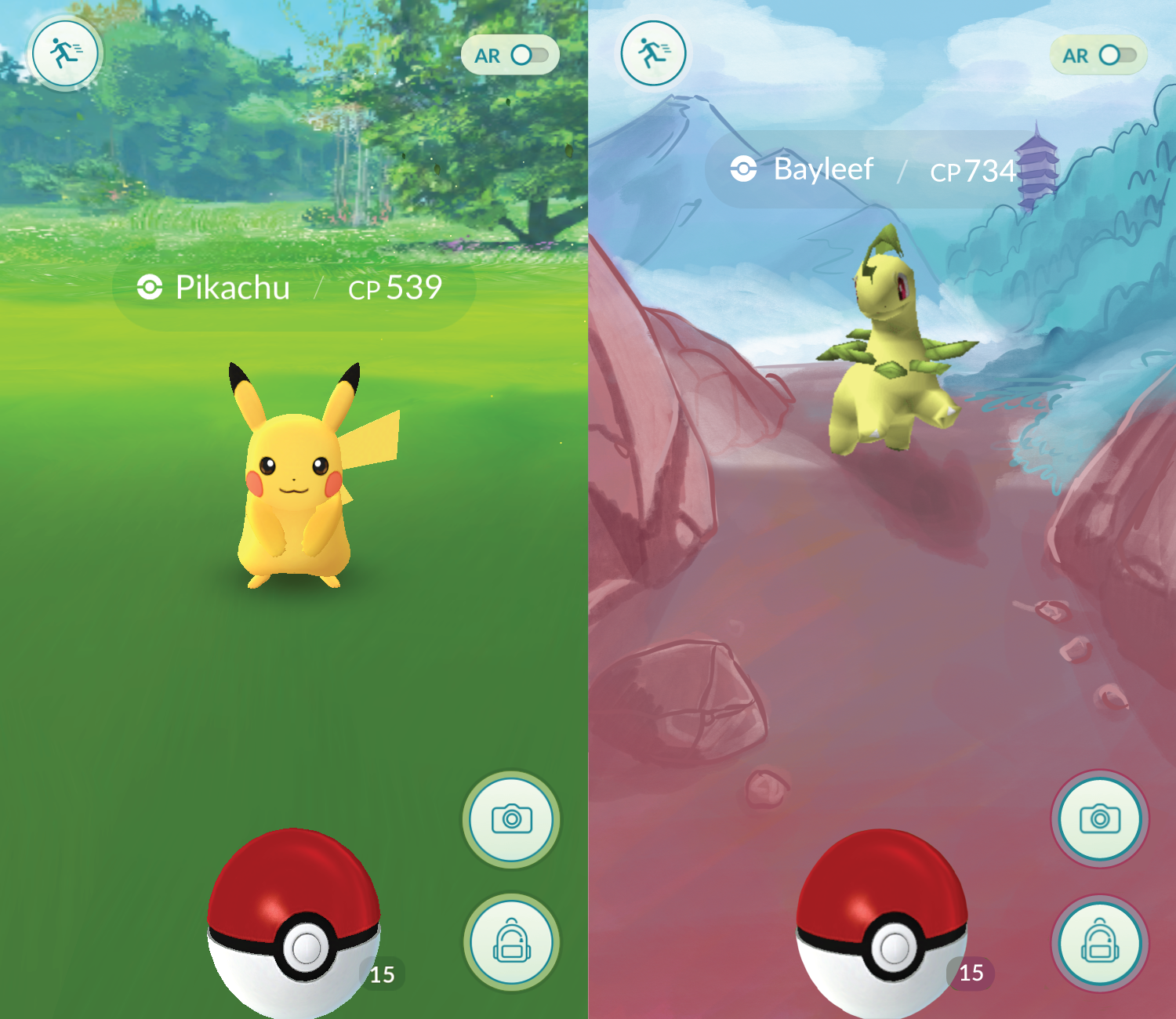 What a Gen II background screen could look like for Johto.