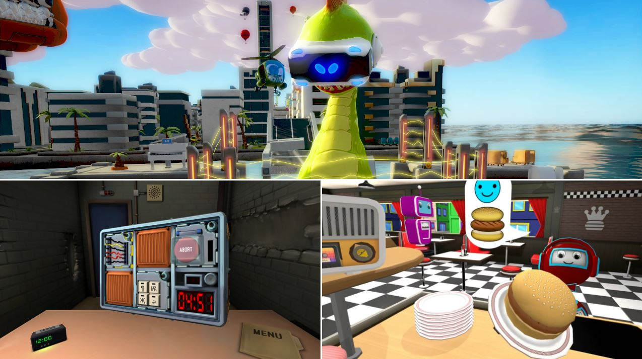 Vr games with local multiplayer to play with your friends and family