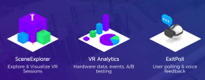 Short description of three key features of CognitiveVR