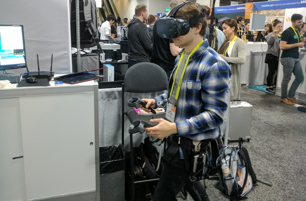 CES 2018: Wireless VR and Haptics To Push VR Forward