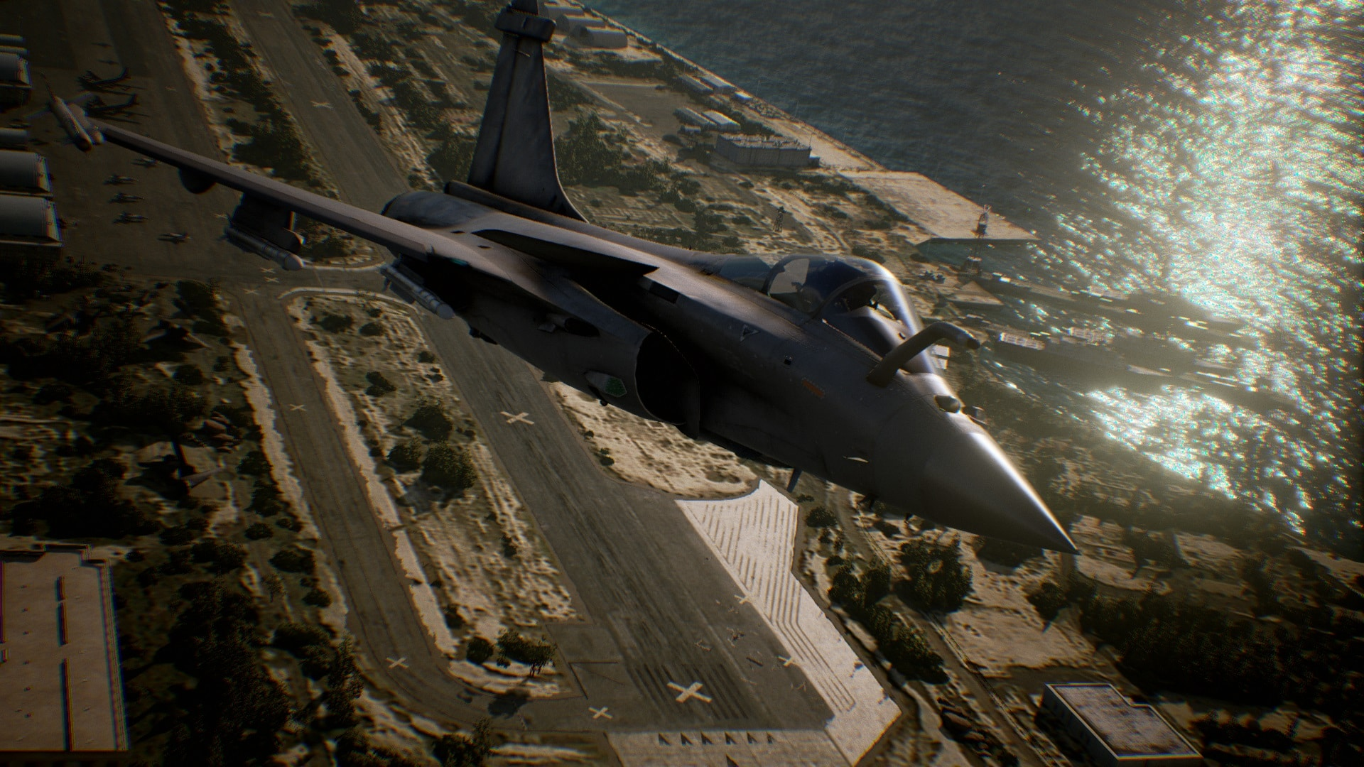ace combat 7 take off