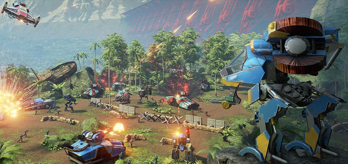 Landfall Is Like Halo Wars Meets A Twin Stick Shooter In Vr