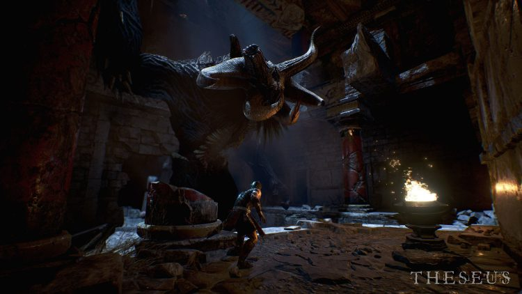 Theseus Review: Exploring The Minotaur's Labyrinth In VR