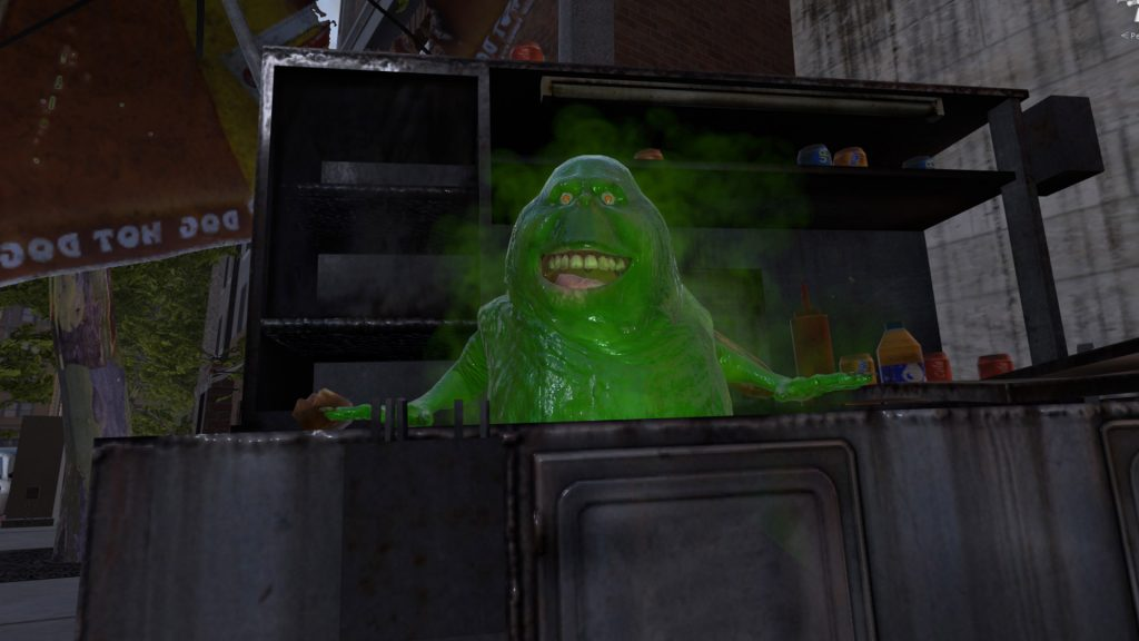 Ghostbusters VR Dumpster