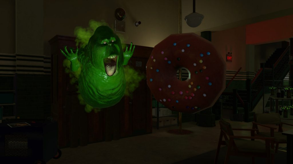 Ghostbusters VR donut