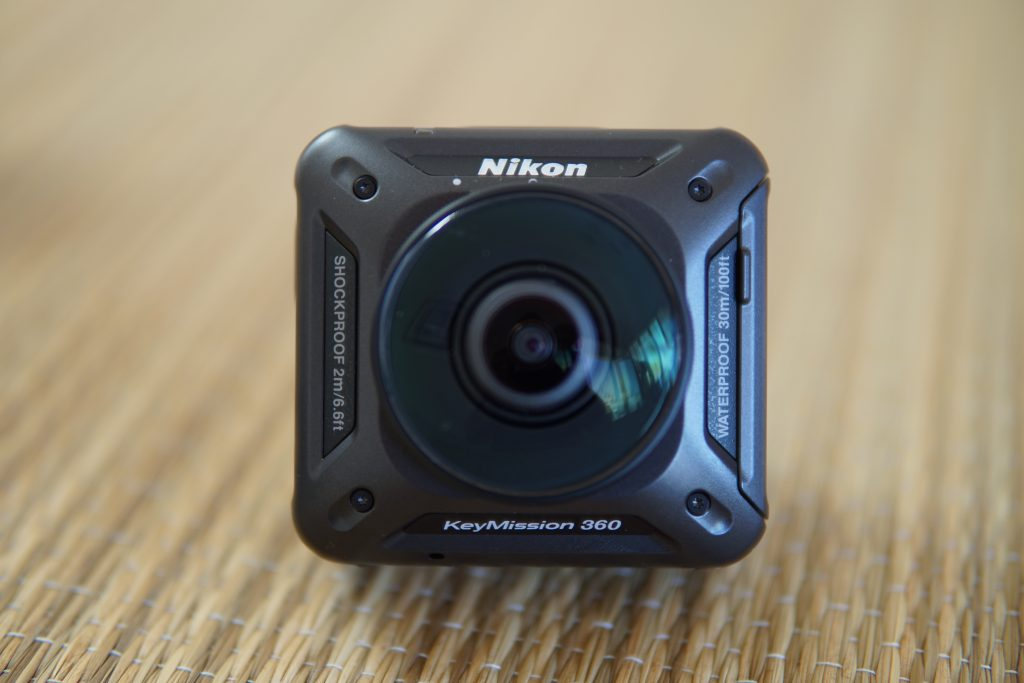 The Nikon KeyMission 360 is capable of 4K video and underwater usage