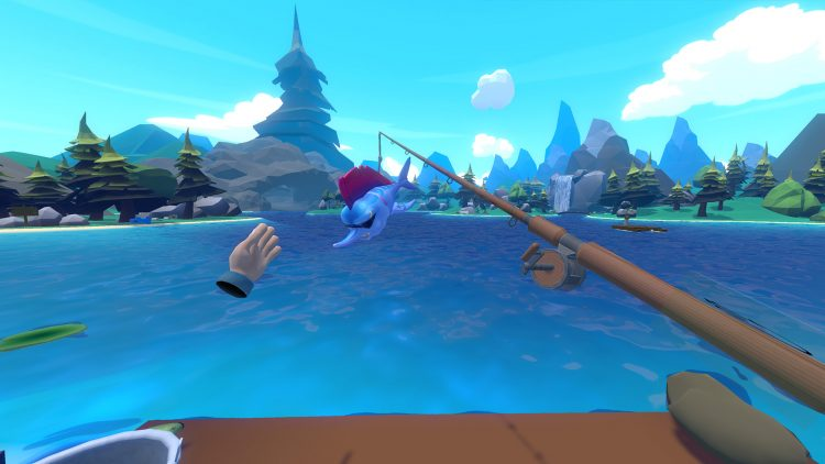 Crazy fishing is absolutely ridiculous and you need to for Virtual reality fishing