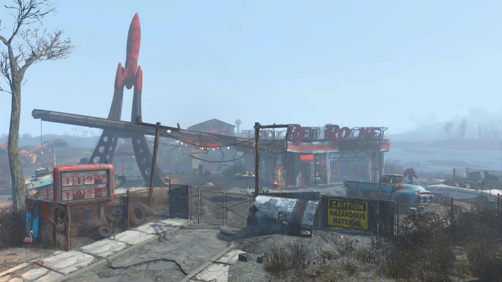 fallout 4 red rocket Atom_Cats_garage