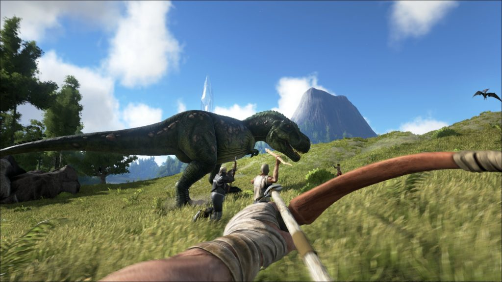 ark survival evolved vr