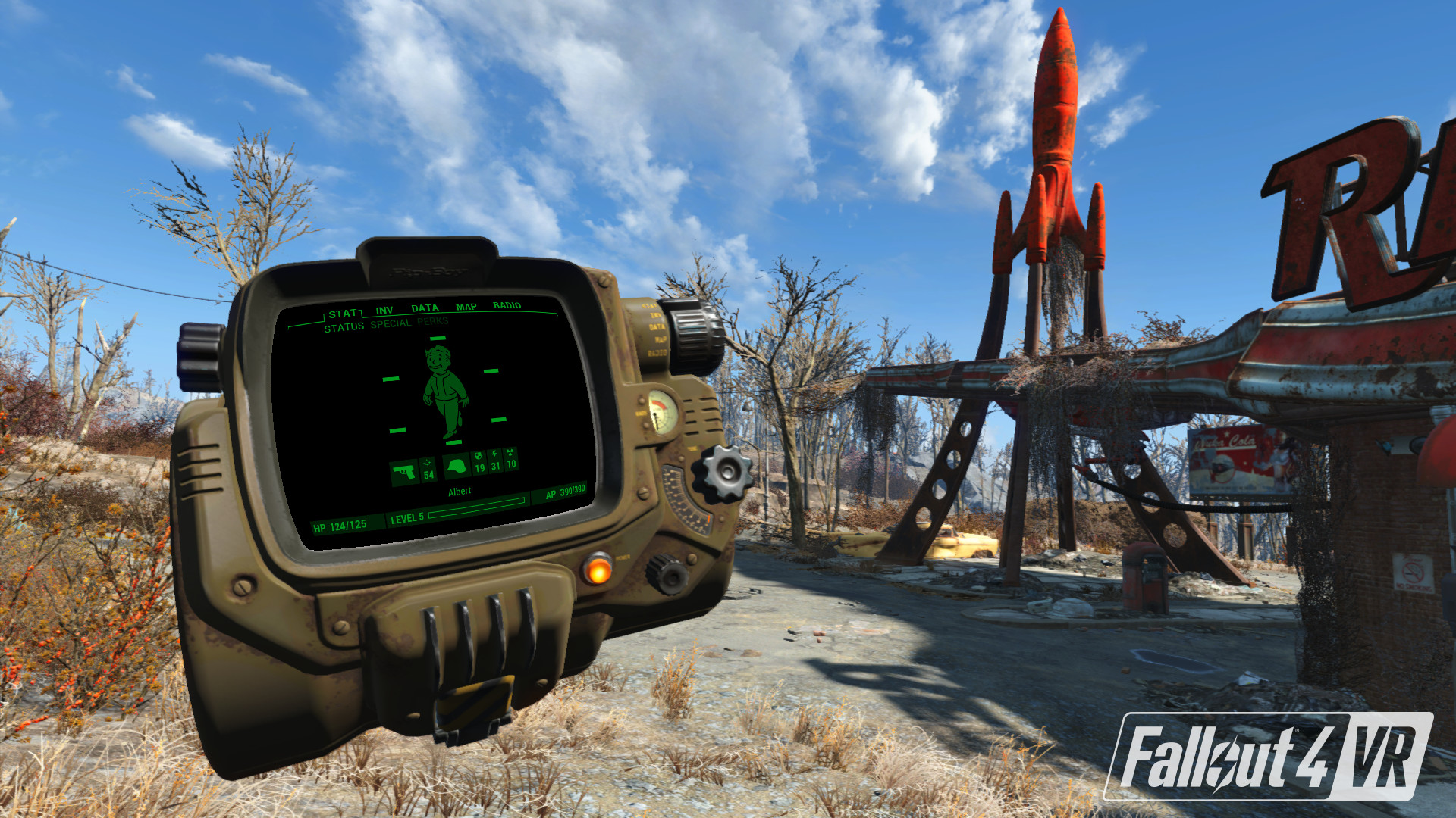 Fallout 4 VR Works On Oculus Rift With Stable SteamVR Build