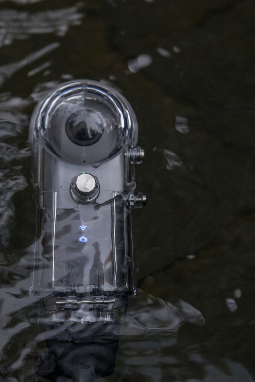 Ricoh Theta V TW-1 Waterproof Housing