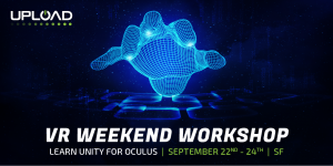 VR Weekend Workshop - Learn Unity for Oculus - Sept 22 - 24 in SF