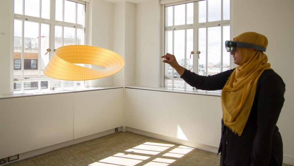 Microsoft Discounts HoloLens For Schools, Partners With Pearson