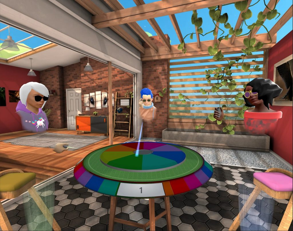 oculus go rooms game table