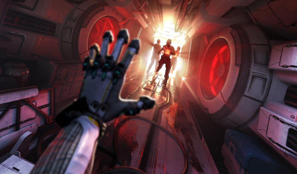 the persistence hallway hand scare
