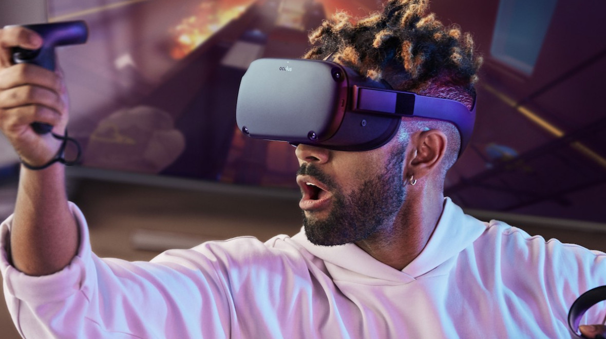oculus quest demo guy