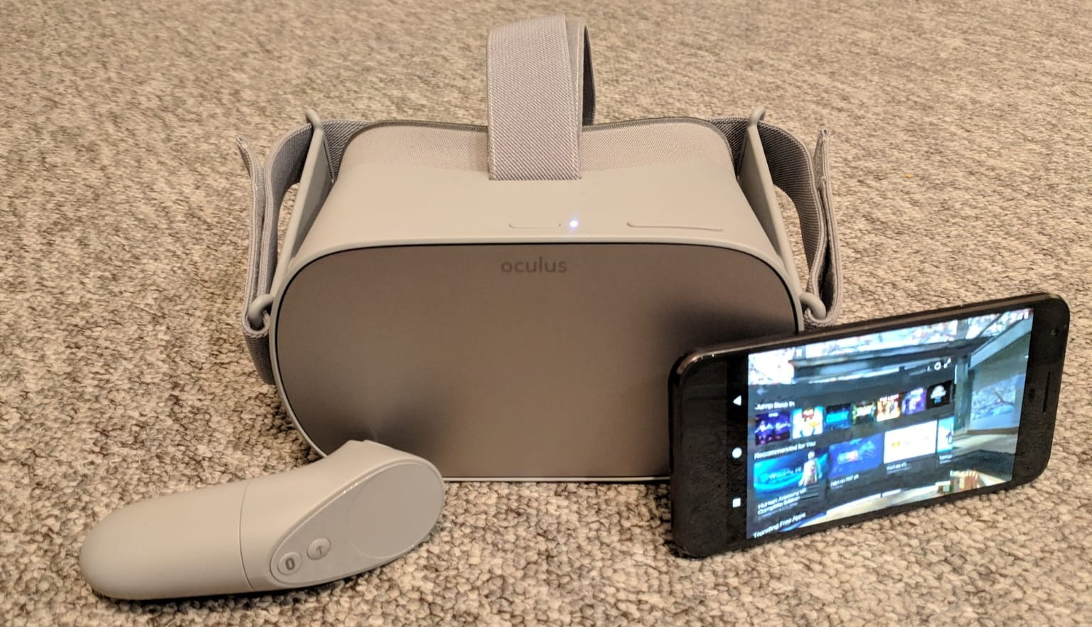 Oculus Go casting vr mobile standalone