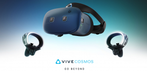 Vive Cosmos controllers inside-out tracking VR headset