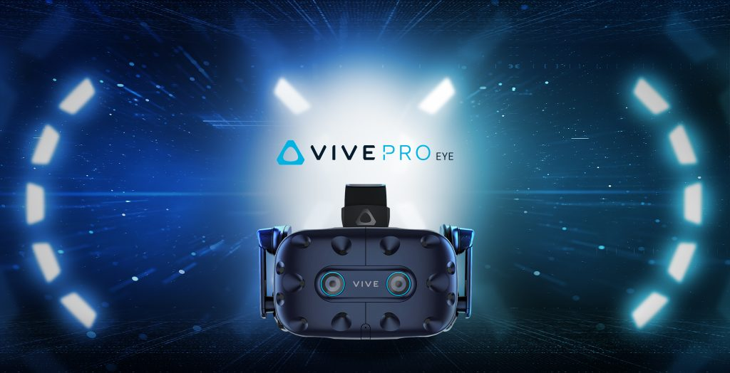 htc vive pro eye foveated rendering eye tracking